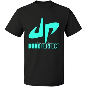 Dude Perfect T Shirt XS -5XL Tee drop shipping T-Shirt Fashion T Shirt Top Tee Hot Fashion
