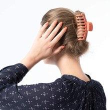 Large shower hair clip hairpin back head clip headdress broken hair top clip beautiful creative 2021 Hot New