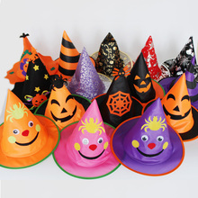 Costume-Hat Dress-Up Cosplay-Accessory Witch Kids Wizard-Hat Party Halloween Girls And