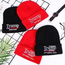 купить Winter Knitted Skullcap Adult Casual Hip Hop Hat Women Men Acrylic Beanie Cap Unisex Solid Color Keep Warm Elastic Hats 4 Color дешево