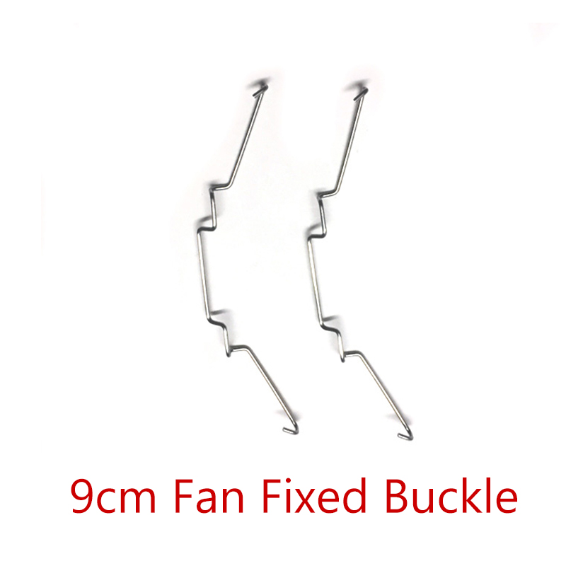 Computer DIY Dual Copper Tube CPU Radiator Buckle Fan Steel Buckle 9cm Fan Fixed Buckle Fan Bracket