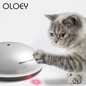 2-in-1 Robot Cat Laser Toy Fun