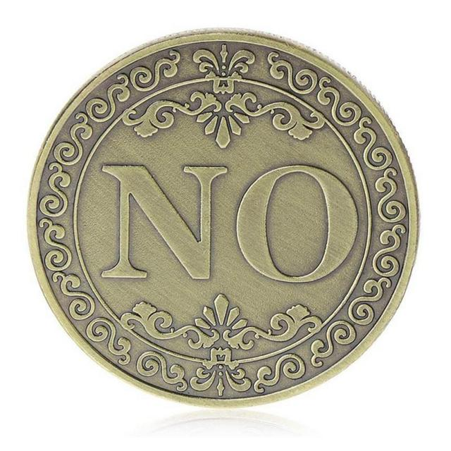 Yes/No Coin 4
