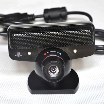 Zoom Lens Gaming, portátil, Sensor de voz negro, Sensor de movimiento, cámara ocular con micrófono, accesorios de alta definición, Plástico