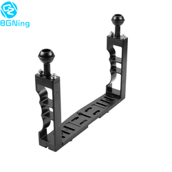 Sports Action Video Cameras Diving Cage Underwater Handheld Gimbal Stand Holder Grip Housing Bracket Kit Photography Accesosries