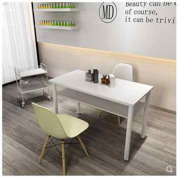 Japanese ins Simple Manicure Table and Chair Set Table Specials Single and Double Modern Manicure Table Economy Makeup Table - DISCOUNT ITEM  26 OFF Furniture
