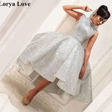 Ball-Gown Prom-Dresses Graduation-Gowns Cocktail Homecoming Sequined Vestidos Party Formal