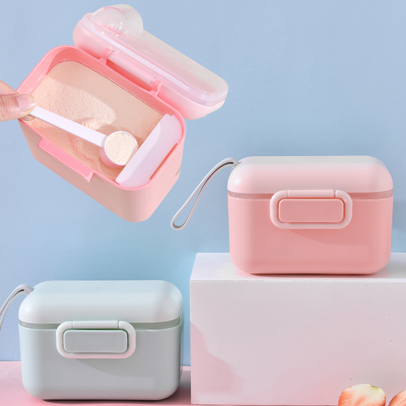 Box Container Snacks Food-Storage-Box Milk-Powder Essential Cereal Toddle Baby Portable