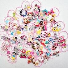 Girl Hair Jewelry Resin Cartoon Charm Elastic Bands Planar Cute Rope