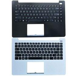 Новый Ноутбук Упор для рук верхний чехол с клавиатурой для ASUS X402 X402C X402CA F402 F420C белого и черного цвета