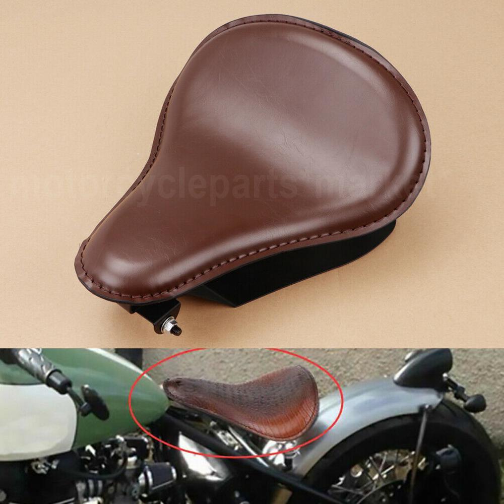 "Black Motorcycle Flame Solo Seat 3/"" Spring Bracket Base Mount For Bobber Chopper"