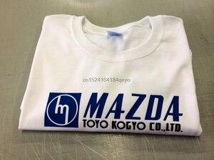 Mazda Toyo Kogyo Shirt White 70s suit R100 Rx2 RX3 RX4 RX7 RX8 808 10a 12a 13b(China)