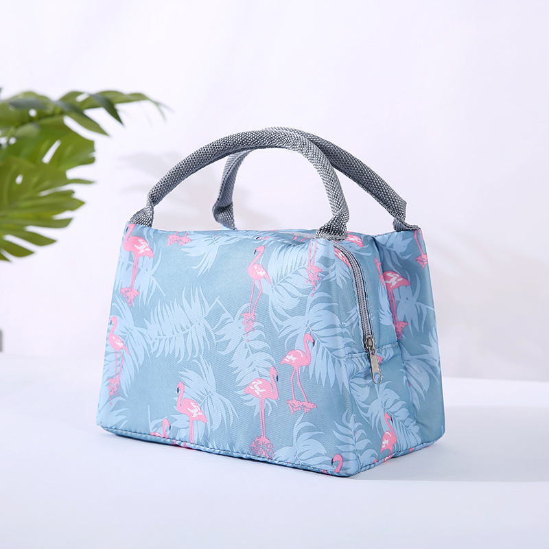 Portable Insulated Food Lunch Bag Functional Pattern Cooler Lunch Box Bags Thermal Tote Bag For Women  Children Organizer Bags