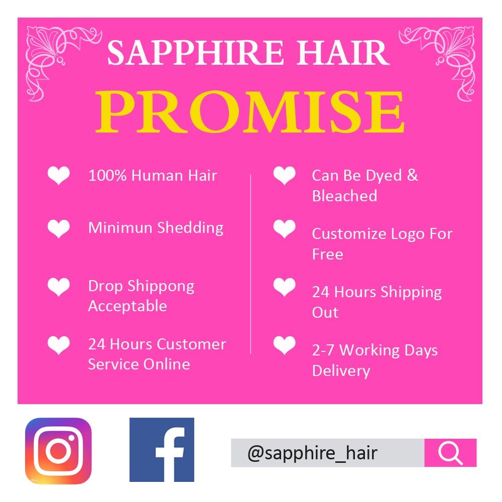 H5fdf759dbcad4b8292f3a41def5d7ed6J Sapphire Straight Bundles With Closure Brazilian Hair Weave Bundles With Closure Human Hair Bundles With Closure Hair Extension