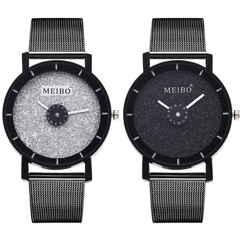 2020 New Of The Original Sufeng Mesh Belt Watches European Contracted Male And Female Students Lovers Hand Quartz Wristwatch