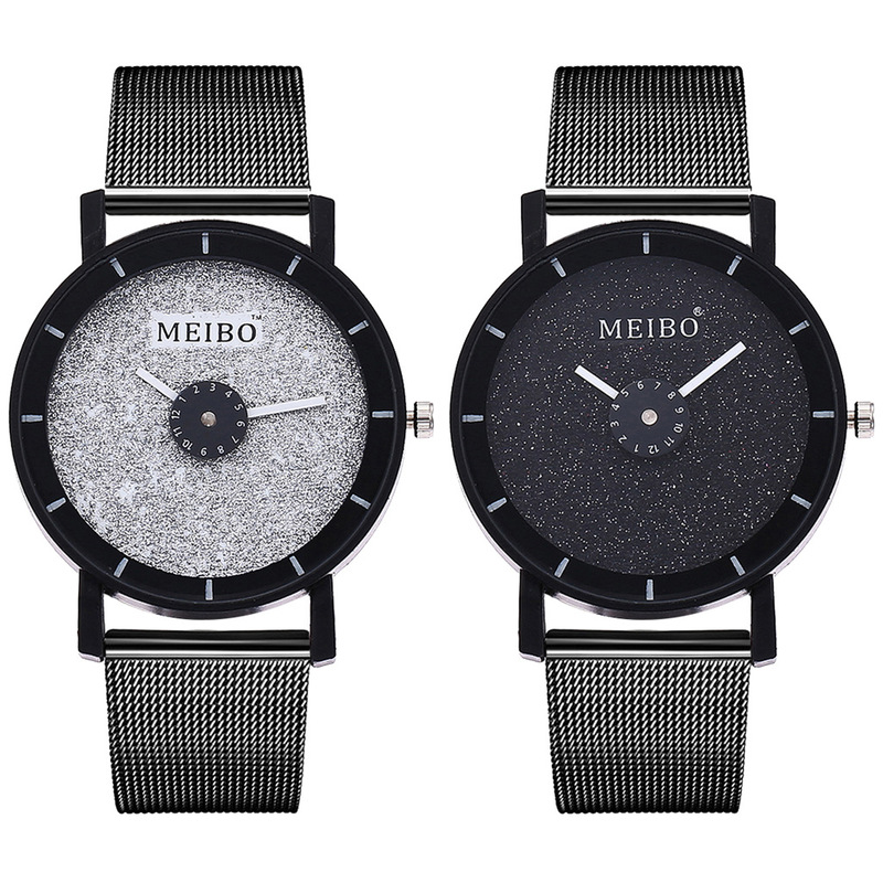 Of The Original SuFeng Mesh Belt Watches European Contracted Male And Female Students Lovers Hand Quartz Wristwatch