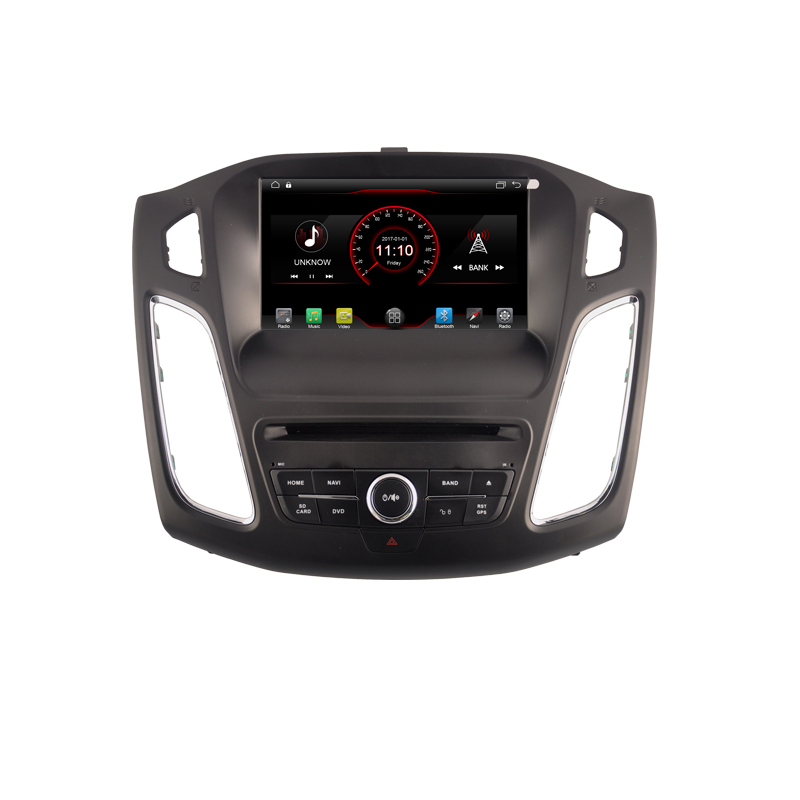 <font><b>Android</b></font> <font><b>car</b></font> dvd player gps navigation for Ford Focus 3 Mk 3 2012 2013 2014 2015 radio <font><b>audio</b></font> stereo headunit wifi swc bluetooth image