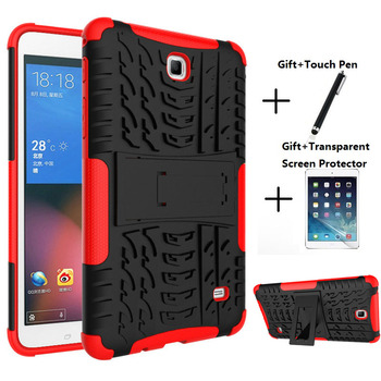 For Samsung Galaxy Tab 4 7.0 SM T230 Case Cover Coque T231 T235 Heavy Duty Rugged Impact Hybrid Case Kickstand Protective Cover hot selling coque case for samsung galaxy tab a 7 0 sm t280 sm t285 heavy duty 3 in 1 hybrid rugged case shockproof cover capa