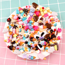 New Addition Slime Charms for Supplies Filler DIY Polymer Ice Cream Accessories Toy Lizun Model Tool Kids Toys Gift E