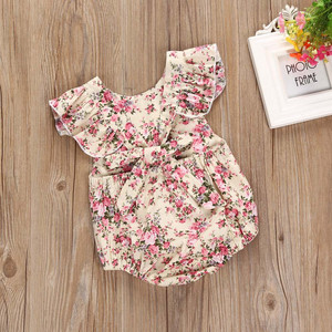 Комбинезоны для новорожденных; Детский комбинезон с цветочным рисунком для маленьких девочек; Комбинезон; Одежда для подвижных игр