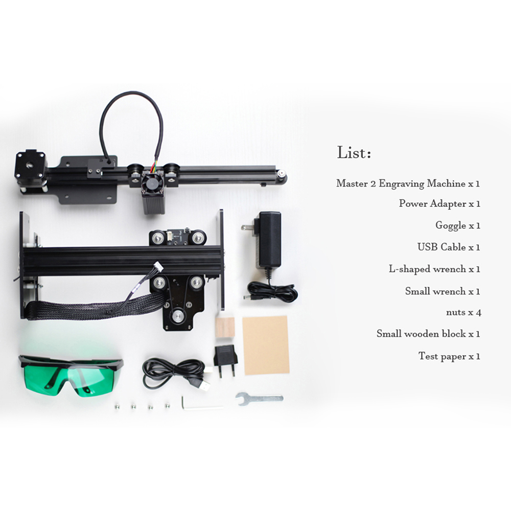 NEJE CNC Laser Engraver/Laser Engraving Machine for Metal Engraving 3