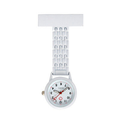 Quartz brooch numbers clock Nurse Arabic with steel case color ki 99 S0230 sent from Italy