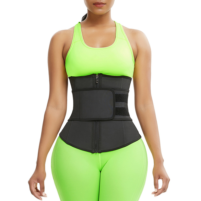 WAIST SECRET Women Waist Trainer Abdominal Belt High Compression Waist Cincher Corset Underbust Body Faja Sweat Plus Size XS-9XL 1