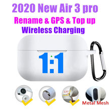 Air 3 Pro TWS Bluetooth Earbuds True Wireless Earphones 1:1 Clone HIFI Bass in Ear Headphones PK i12 i900000 Max i99999 plus(China)