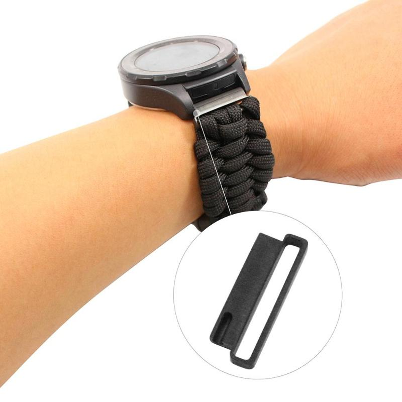 Watch Band Adapter Strap 22mm 20mm Watchband Connector For Huawei Samsung Strap Sport Loop For Iwatch Series