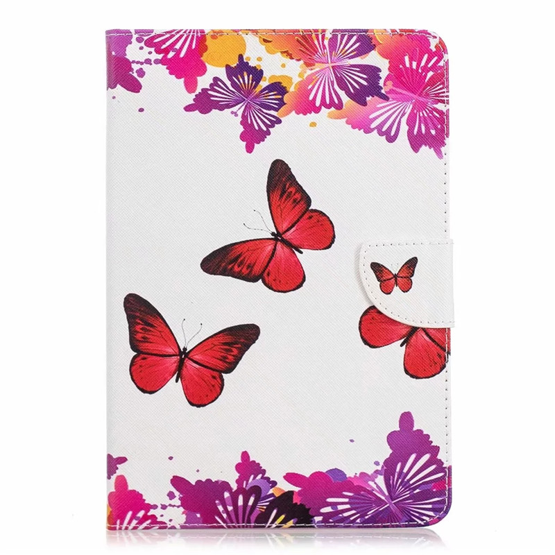 Red butterfly Blue Coque for iPad 10 2 Case for iPad Air 3 Case Pro 10 5 Case Cute