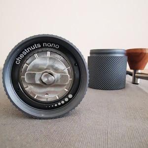 Image 5 - TIMEMORE 나노 플러스 수동 커피 그라인더 휴대용 조정 가능한 설정 원추형 버 작은 손 크랭크 밀 에스프레소 스케일 위에 부어