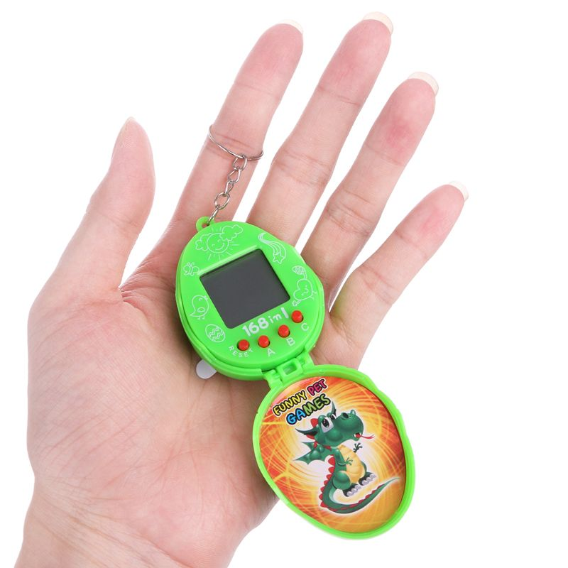 90s Nostalgic Virtual Cyber Electronic Pets With Eggshell Retro Machine Toy Gift
