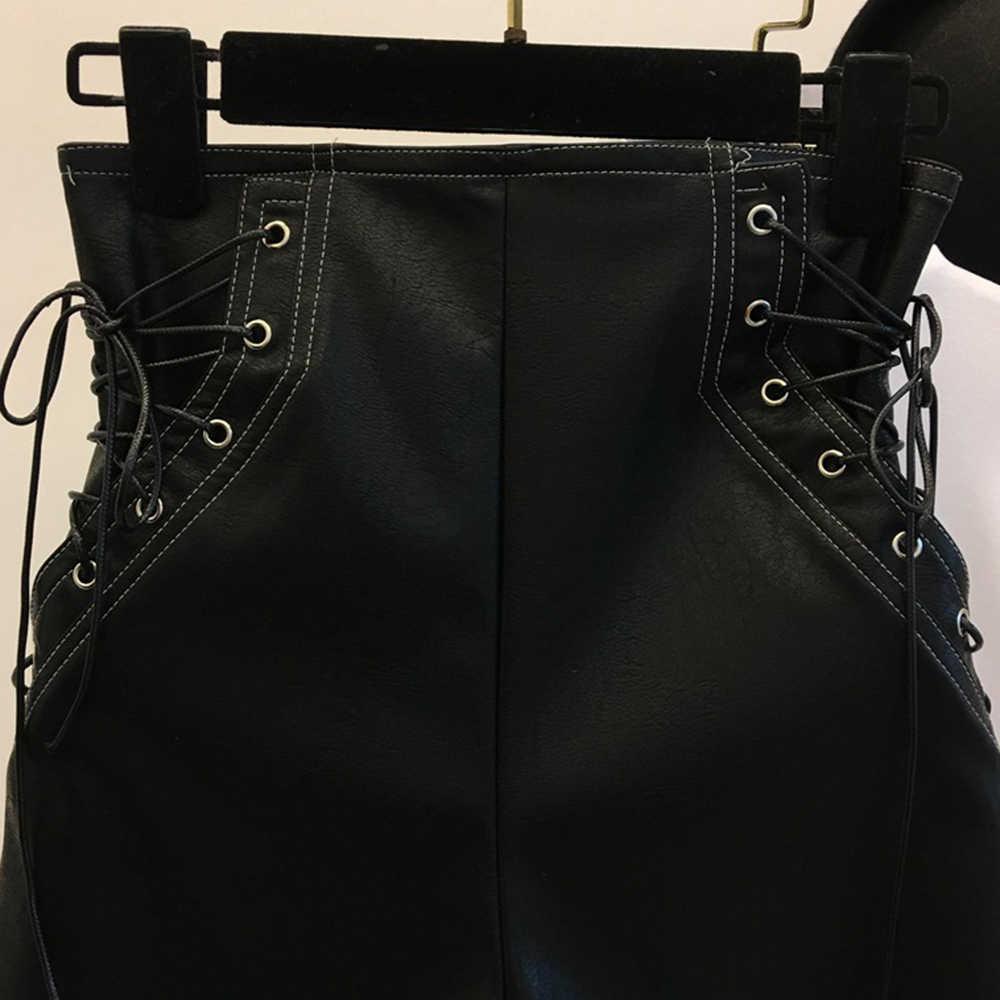 Rosetic Женские шорты, повседневные, готические, сексуальные, Клубные, панк, хип-хоп, прямые, тонкие, высокая талия, простые, на молнии, черные, крутые, женские летние шорты