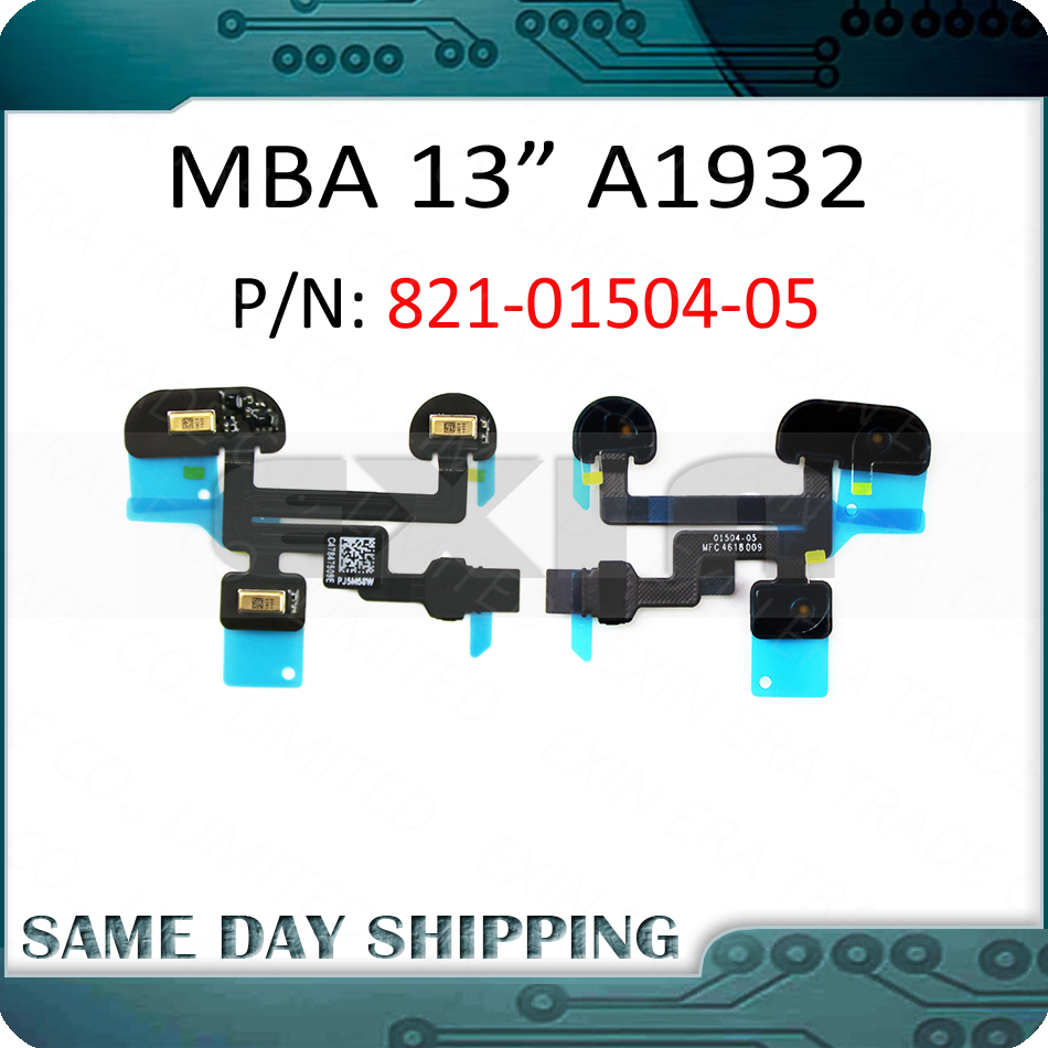 New A1932 Mic. Microphone Flex Cable 821-01504-05 01504-05 For Macbook Air 13