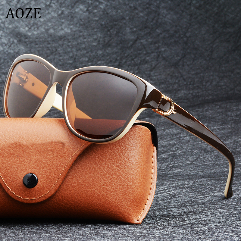 2020 New Fashion Brand Design Cat Eye Polarized Sunglasses Womens Lady Elegant Sun Glasses Female Driving Eyewear Oculos De Sol