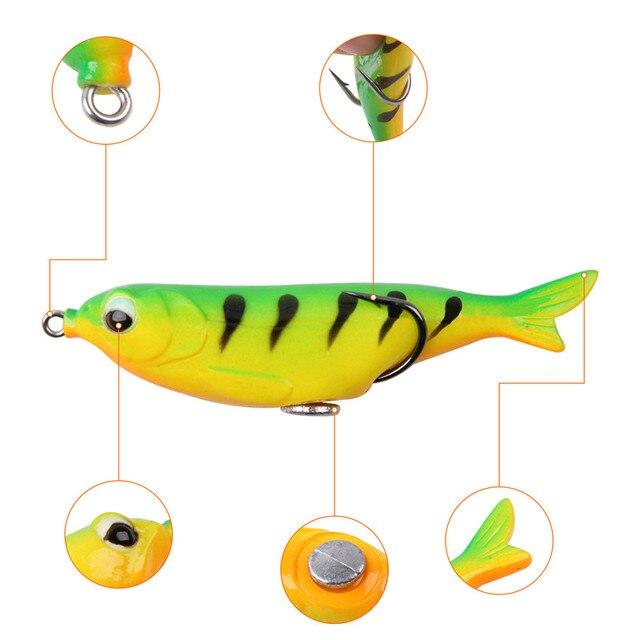 Фото рыболовные приманки в виде лягушки 5 шт/кор 124 г набор силиконовых