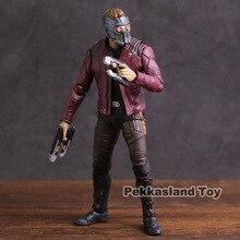 SHF Avengers Infinity War Star Lord PVC Action Figureของเล่นสะสม