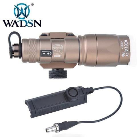wadsn softair scout luz m300a lanterna tatica com dupla funcao interruptor de fita m300 tochas