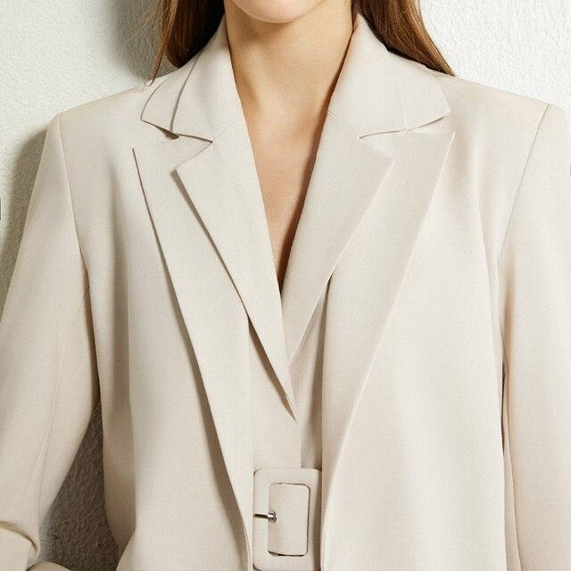 Повседневный женский костюм AMII офис, офисный костюм для женщин 4
