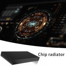 1 шт алюминиевый радиатор со светодиодом 48x11 100мм теплоотвод