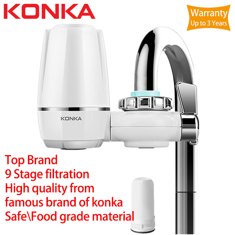 KONKA Water Filter For Household Kitchen Health Activated Carbon Tap Faucet Water Filter Purifier For Drinking Filtro