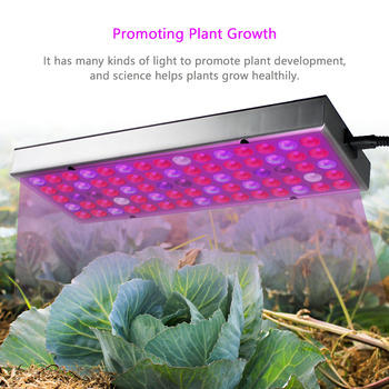 цена на LED Grow Light Panel Full Spectrum with UV IR  25W 45W Pro Grow Lamps Hydroponic Hanging Kit for Indoor Plants 220v 110v