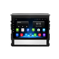 4G LTE Android 8.1 Fit TOYOTA Land Cruiser 2016 2017 2018 2019 Multimedia Stereo Car DVD Player Navigation GPS Radio