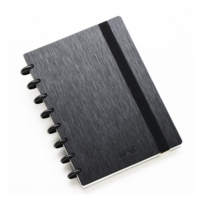 DIY Discbound Mushroom Holes Notebook 60 Sheets Or 80 Refill Sheets  B6/A5 Size Back To School Stationery CX19-002-2