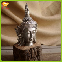 Zen Buddha Statue Silicone Mould Home Decoration Aromatherapy Candle Tool Armor Head