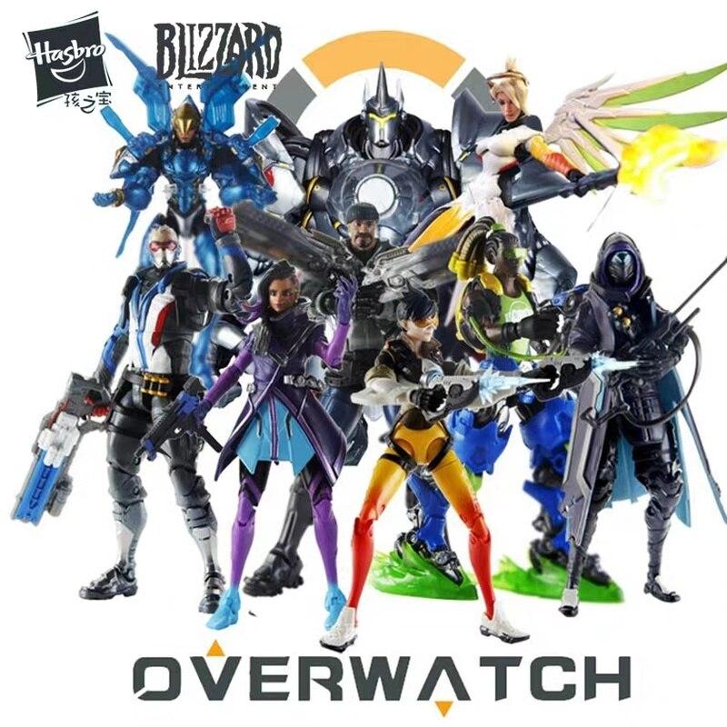 Hasbro Overwatch wspólna figurka Tracer zestaler76 ręcznie robiona kolekcja modeli