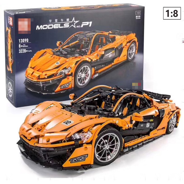 IN STOCK 13090 MOC Technic Series Sports RC Car Racing Drift APP Remote Control Building Blocks Bricks Kids Toys Christmas gift 1