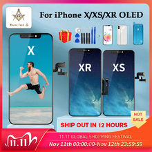 High Quality OLED For iPhone X XS XR Display OLED For iPhone X Display Screen Replacement with True Tone Free Shipping