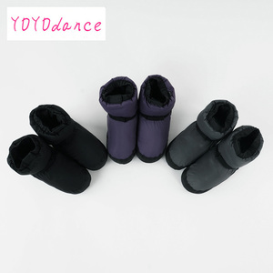 Image 4 - Professional Ballet Warm ups For Women  Pointe Dance Shoes Soft  Boots Protection Foot Warm  Ballerina Booties