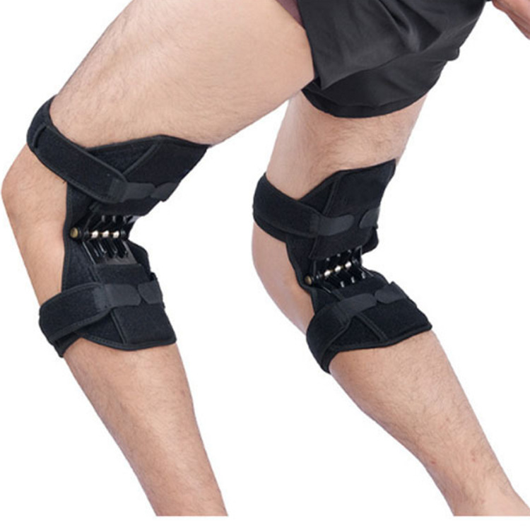 Knee Sleeves Joint Support Knee Pads Rebound Powerleg Knee Booster Brace Support Ortofit Stabilizer Joelheira Power Lift